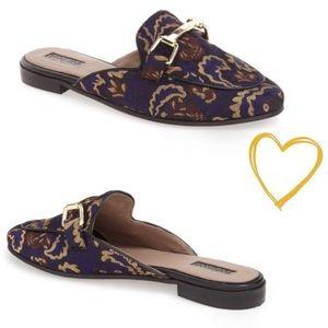 EUC Topshop 'Kylie' slide loafer size 9.5